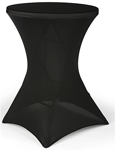 Black Cocktail Table Cover For Highboys