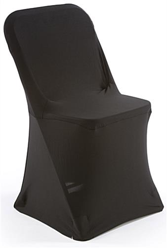 Black Stretch Chair Cover is Machine Washable