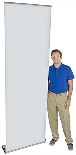 "31"" Roll Up Banner Stand, 36"" Case Width"