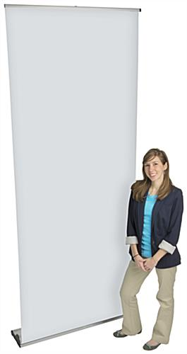 Custom Roll Up Banner Stand, Floor Standing