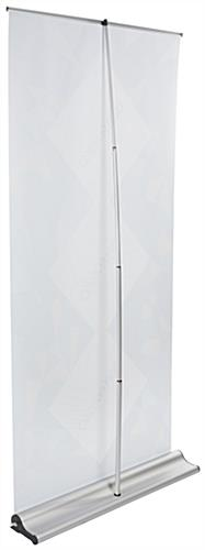 "Oversize Roll Up Banner Stand, 90"" Maximum Height Range"