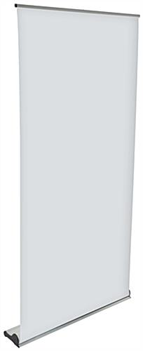 Oversize Roll Up Banner Stand, Silver