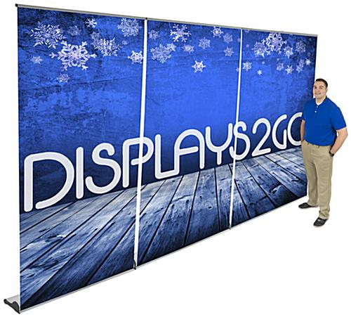 Pull Up Banner Set, Floor Standing