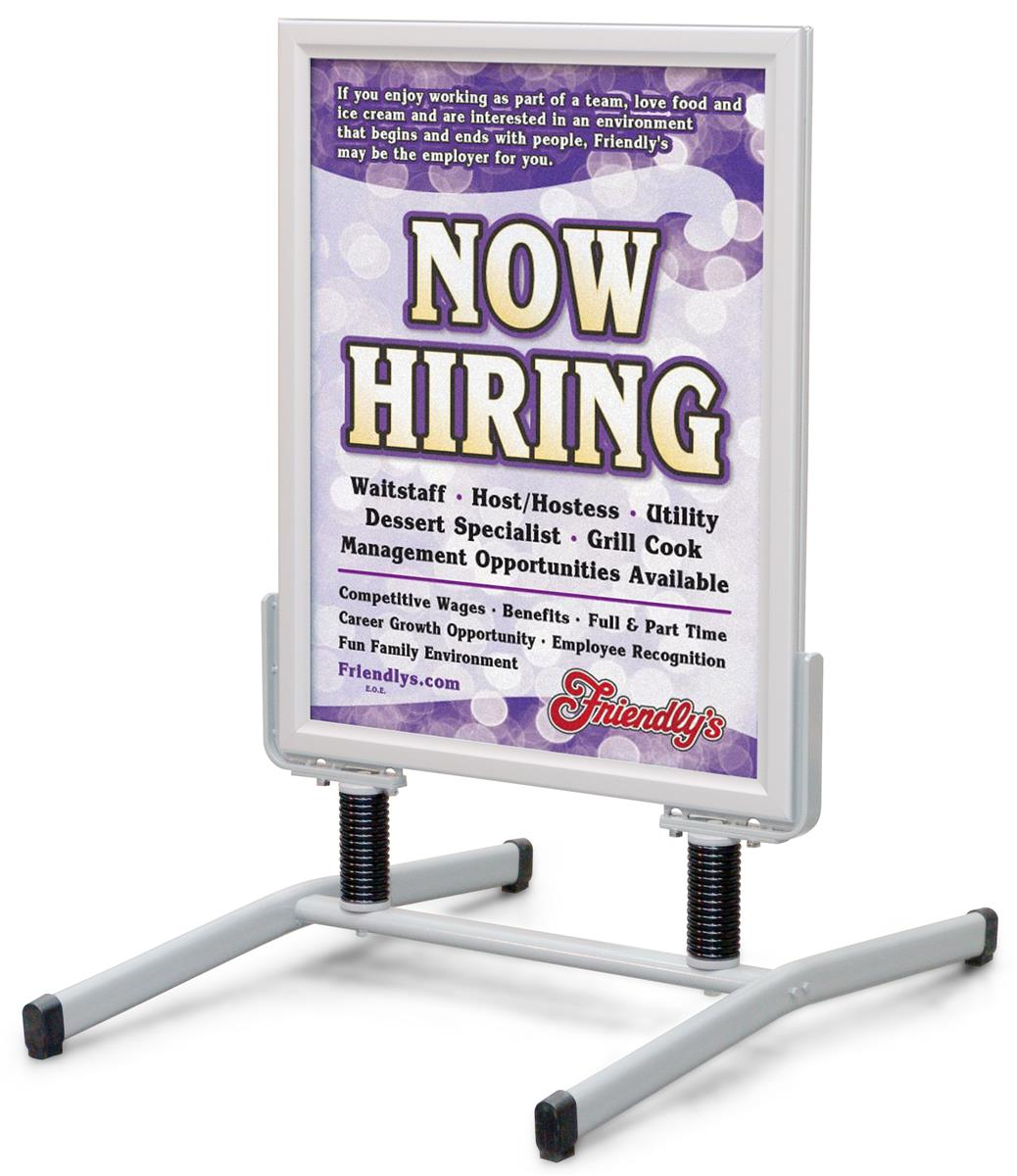 Exterior Promotional Signs Double Sided 22 X 28 Poster Frames