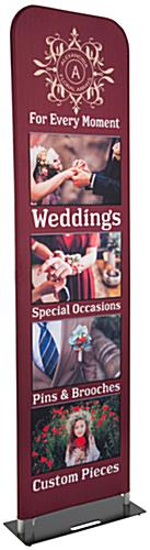 "Tall 24"" Fabric Banner Stand"