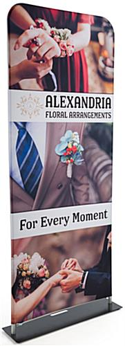 Trade Show Double Sided Fabric Banner Stand