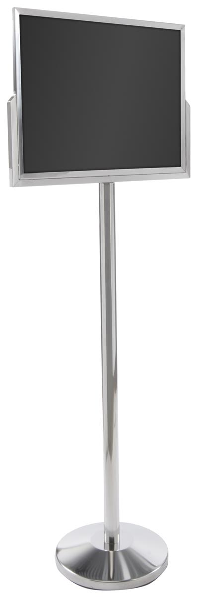 Stanchion Post With Sign Holder 24 Quot X 18 Quot Poster Frame Stand