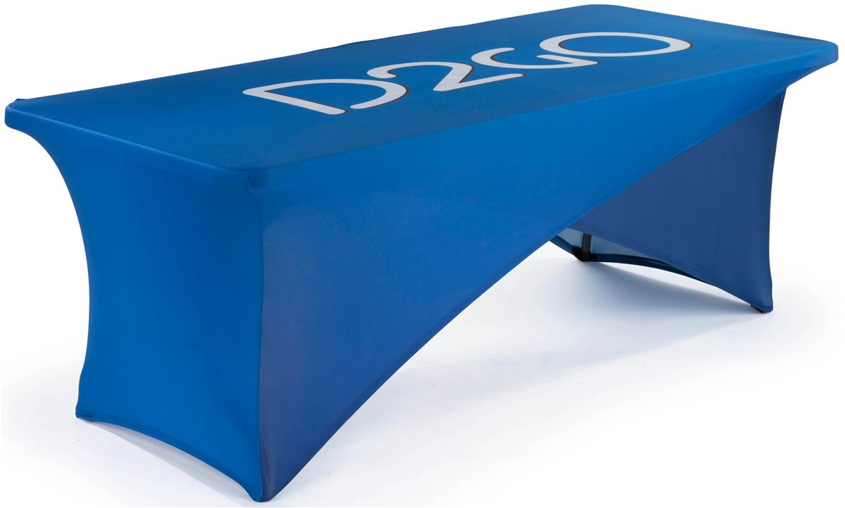 Spandex Crossover Table Cover 8 Ft W