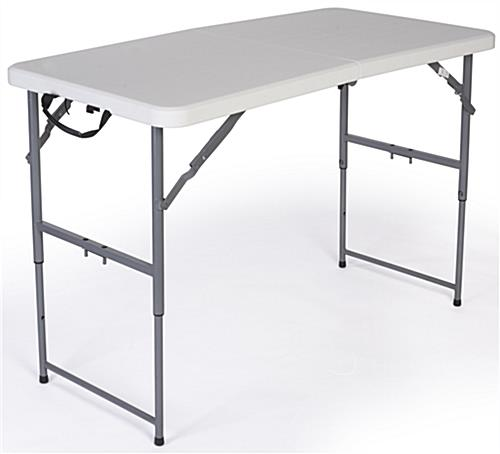 Included 4' Table with Spandex Cover