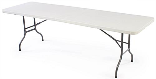 Included 8' Table with Scuba Cover