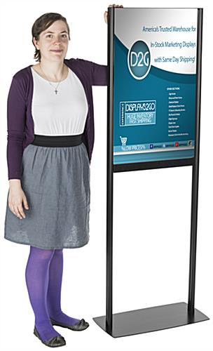 Floor Standing Adjustable Poster Stand