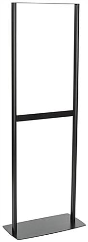 Adjustable Poster Stand with Top Insert