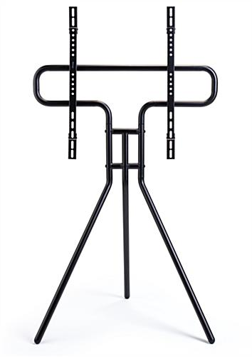 Steel modern steel easel TV mount