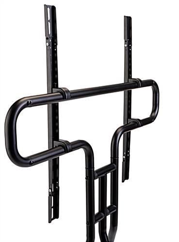 Metal modern steel easel TV mount