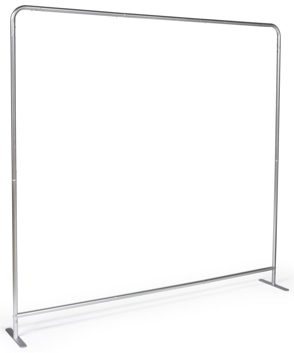 8 Wide Banner Backdrop Aluminum Frame