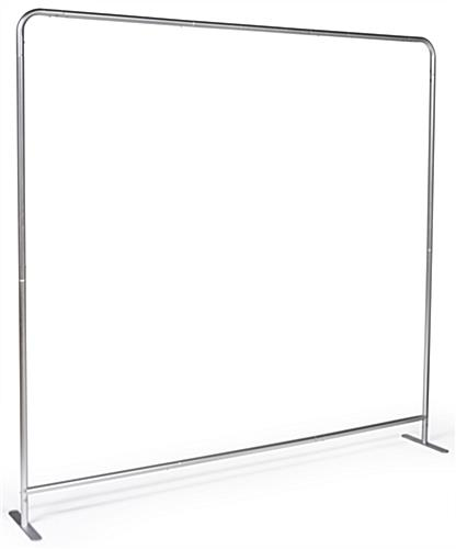 Double Sided 8' Wide Banner Backdrop with Aluminum Construction