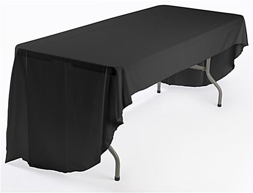 logo table cover