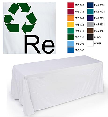 Imprinted Graphic Table Cover
