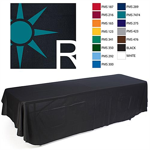 custom table covering
