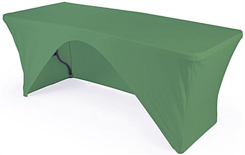 Fitted Table Cover Stretches To Fit 6 Ft. Tables