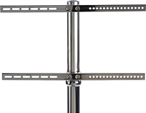 Stainless Steel TV Stand with VESA Bracket