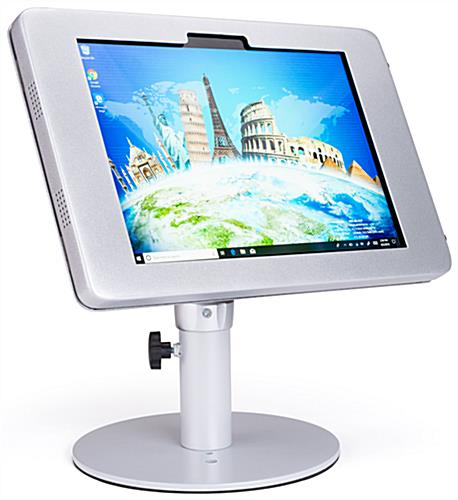 Tilting & rotating Surface Pro counter kiosk stand