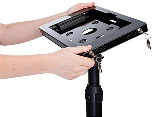Tilting & rotating freestanding Microsoft Surface Pro stand