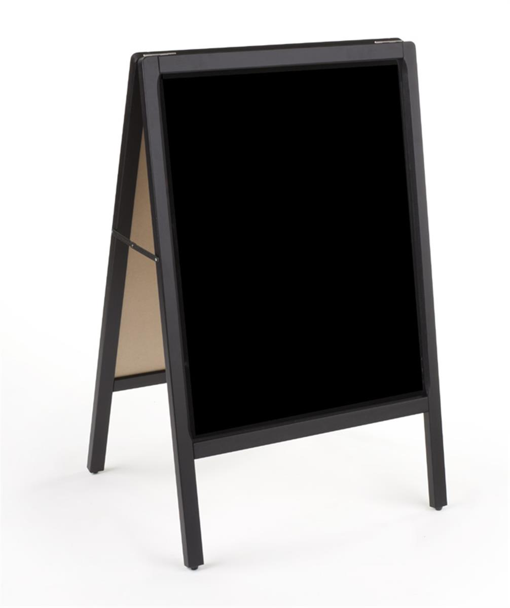 Blackboard Sign | Double Sided Glossy Board for Wet Erase