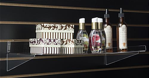 Slatwall Shelf for Retail