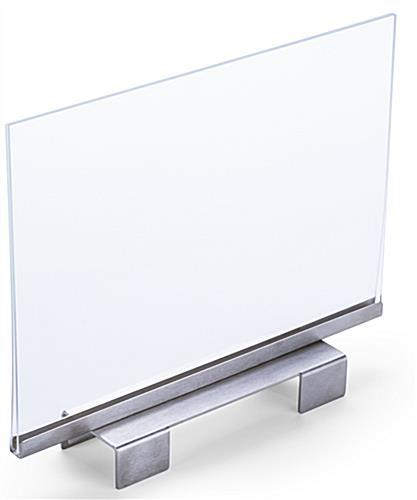 Double Sided Horizontal Sign Holder
