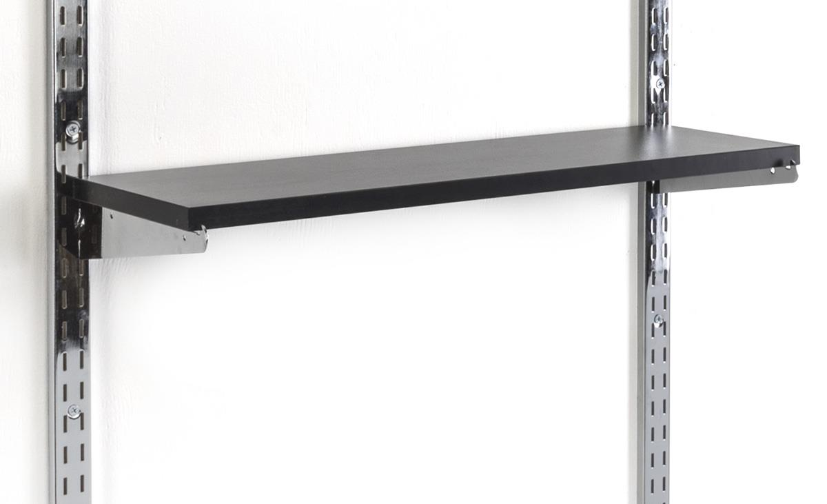 Sensational 8 X 24 Slatwall Shelf Black Download Free Architecture Designs Salvmadebymaigaardcom