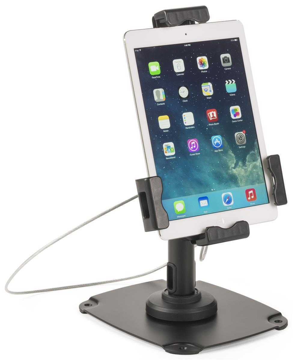 Countertop Wall Ipad Stand Universal Anti Theft Kiosk