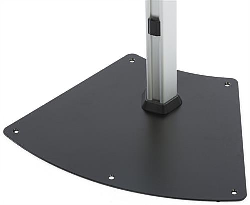 Secure Universal Tablet Floor Stand