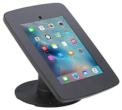 iPad POS Enclsoure with Covered Home Button