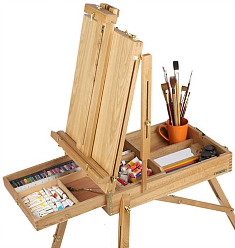 Painting Easel - Best For Oil And Watercolor Use