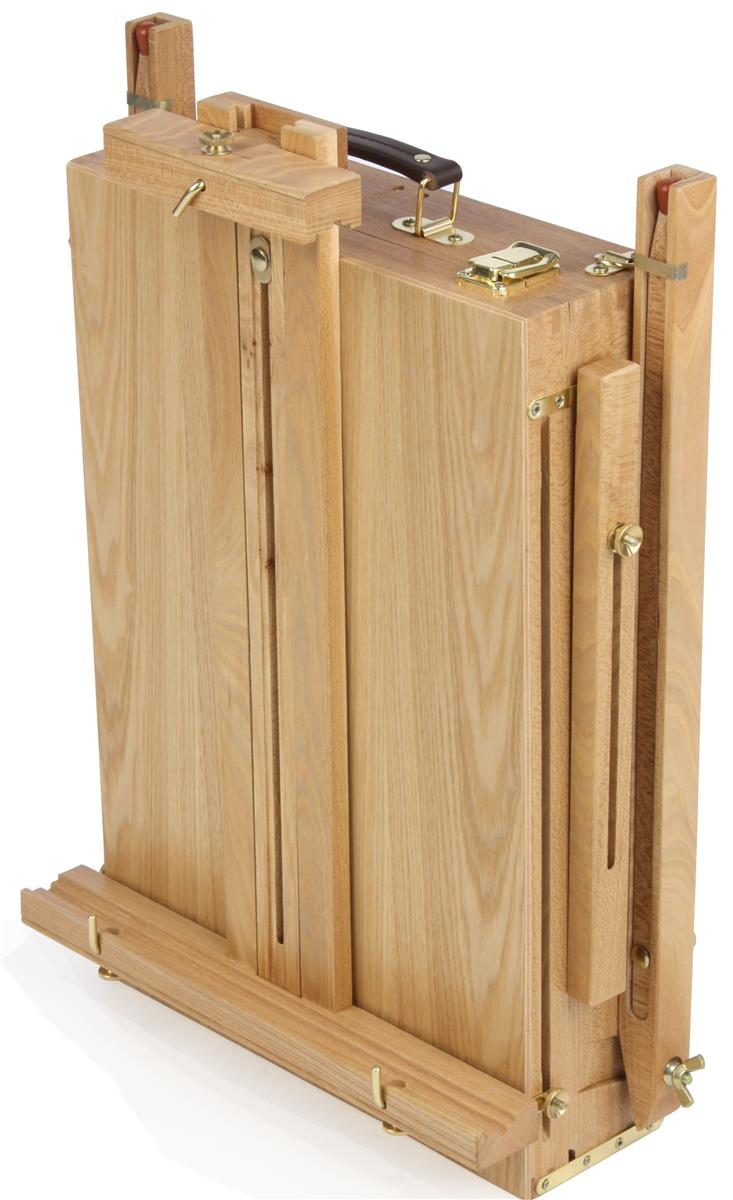 French Easel For Painting Artists Adjustable With Storage