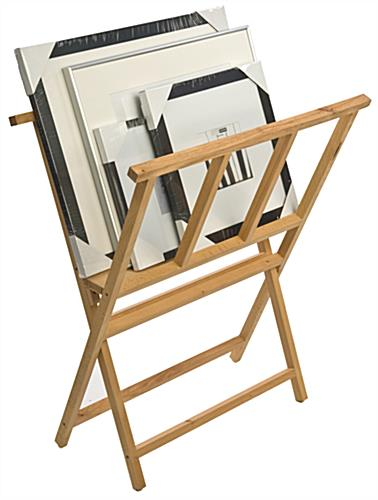 Print rack for storing art
