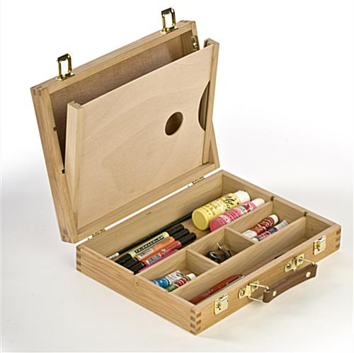 wooden art box