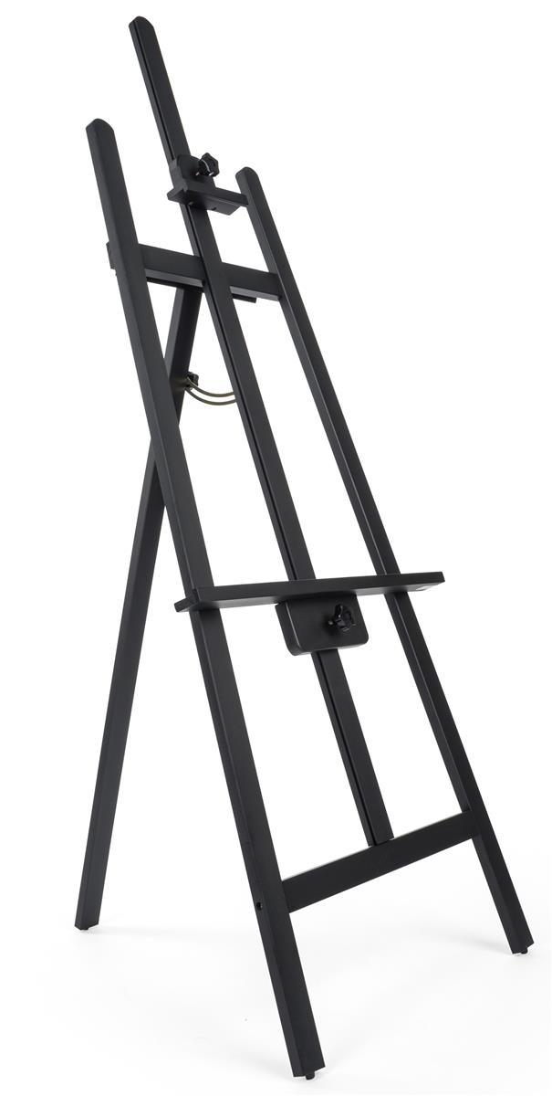 Drawing Easel 65 Quot Tall Adjustable Pine Wood With Black Finish