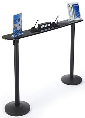 Writing Table with 2 Post Mounts for Post Offices