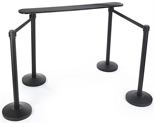 Crowd Control Stanchion Writing Surface