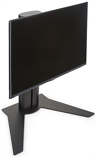 "Black 32"" Desktop Monitor Stand"