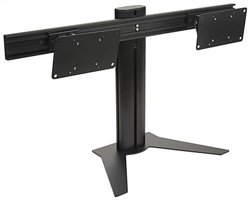 "20"" Tall Dual Screen Monitor Stand"