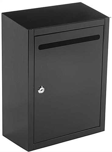 Black Suggestion Lockbox Hinged Door