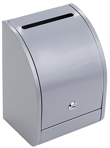 Silver Suggestion Lockbox for Tabletops