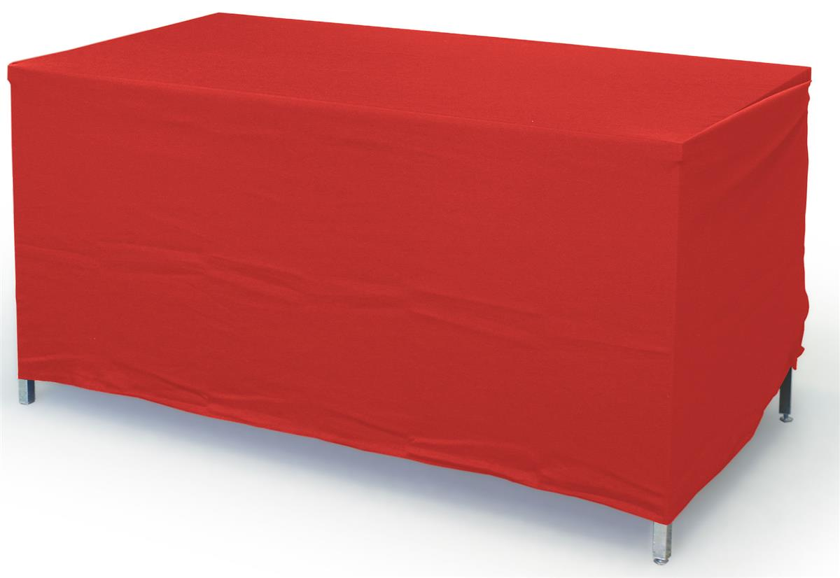 Trade Show Table Cover Will Adjust To Fit A 4 Or 6 Foot Table