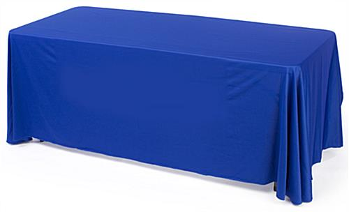 blue convertible table cloth