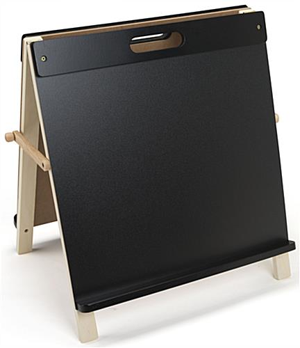 Children's Tabletop Easel with Chalkboard
