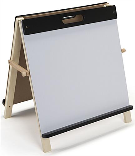 Children's Tabletop Easel with Pine Frame