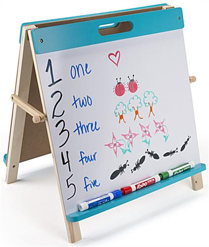 Kids Table Easel with Tray